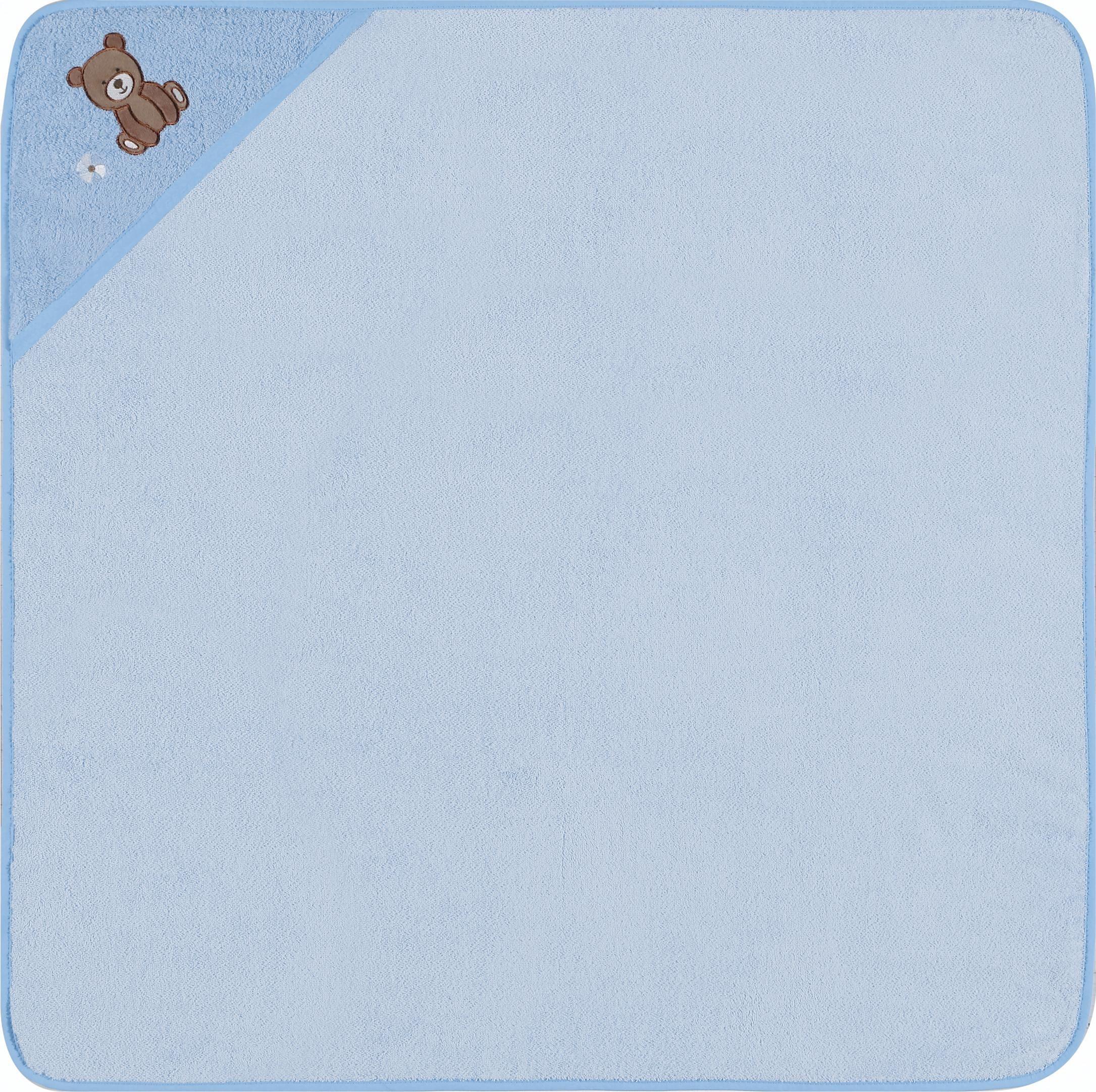 Kapuzenhandtuch, Egeria, »Teddy Bear«, mit Stickerei