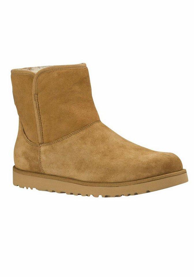 UGG »Classic Mini Slim Cory« Winterboots für eine schlanke Silhouette   Schuhe > Stiefeletten > Winterstiefeletten   Braun   UGG