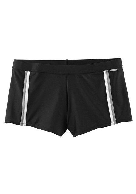 Chiemsee Boxer-Badehose, mit modischen Kontrastpaspelierungen | Bekleidung > Bademode > Boxerbadehosen | Chiemsee