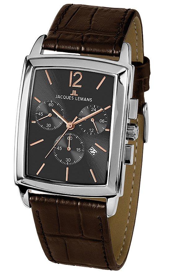Jacques Lemans Classic Chronograph »Bienne, 1-1906C« in braun