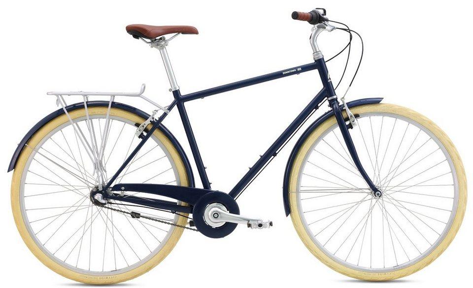 breezer herren trekkingbike 28 zoll 3 gang shimano. Black Bedroom Furniture Sets. Home Design Ideas