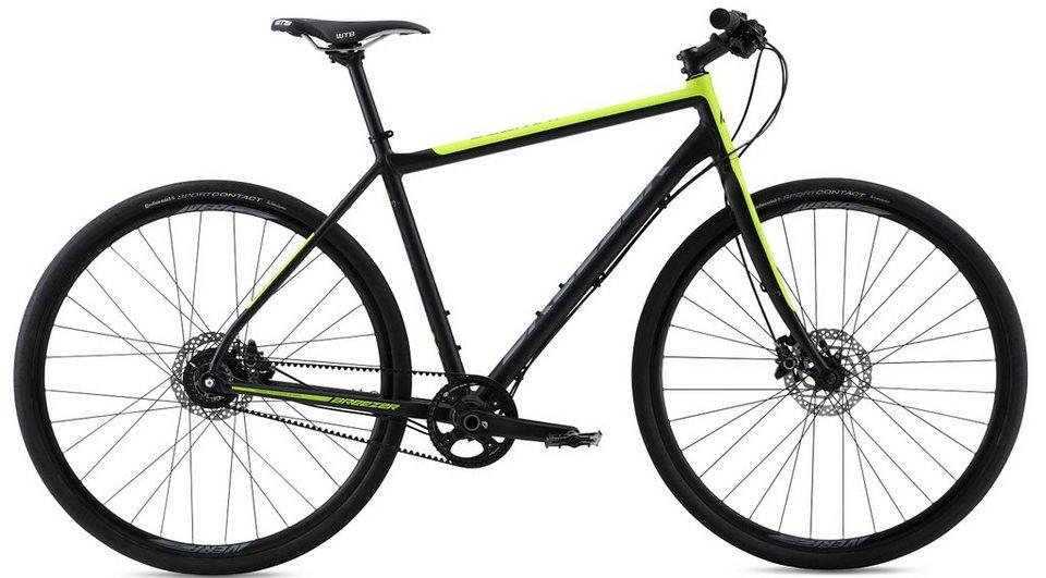 Breezer Herren Citybike, 28 Zoll, 8 Gang Shimano Nabenschaltung, , »Beltway 8« in schwarz-grün