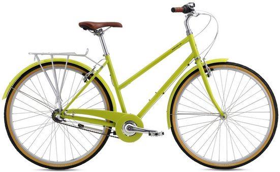 BREEZER Bikes Trekkingrad »Downtown 3 US«, 3 Gang Shimano, Nabenschaltung