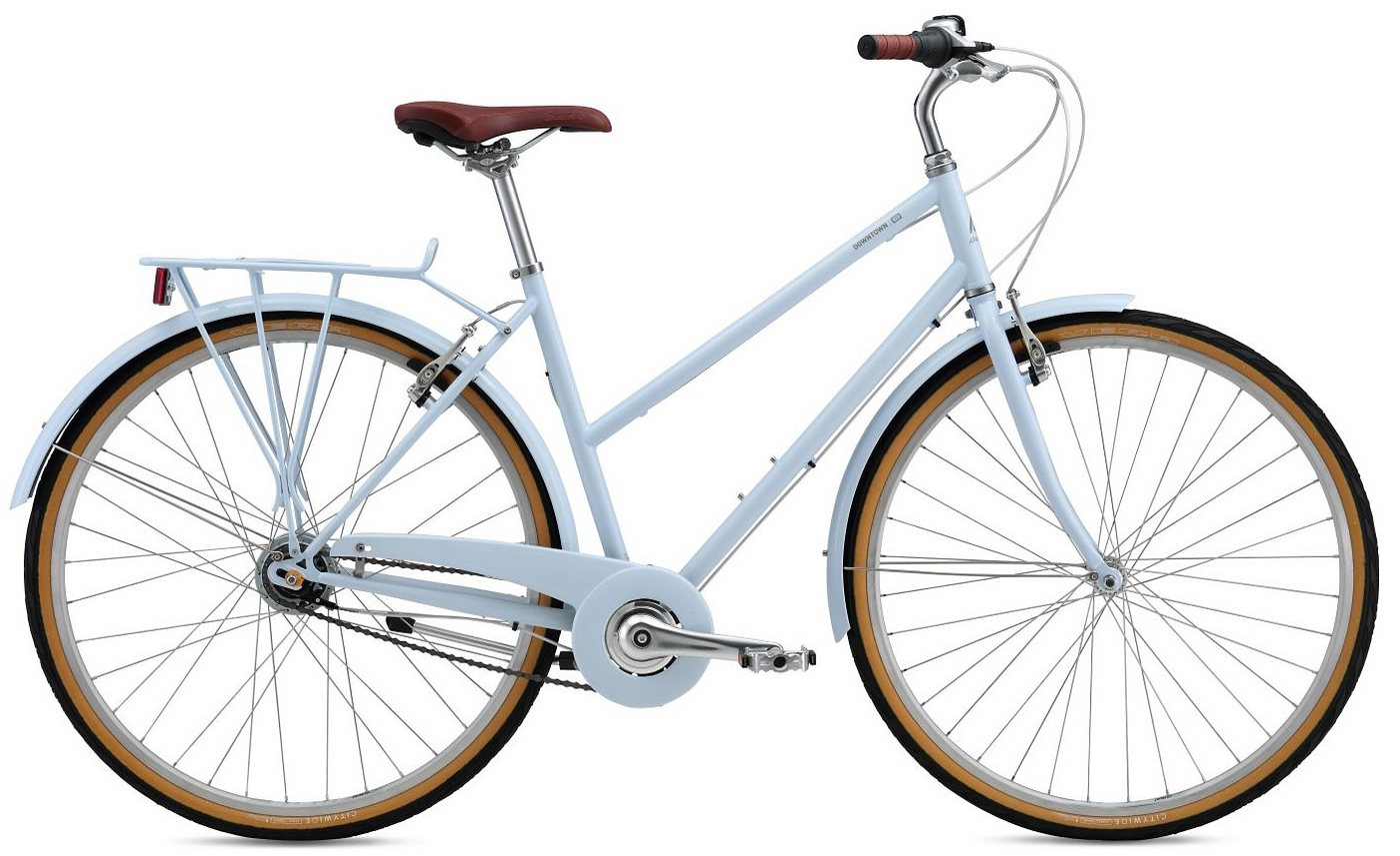 Breezer Damen Trekkingbike, 28 Zoll, 8 Gang Shimano Nabenschaltung, »Downtown US« Sale Angebote Hornow-Wadelsdorf
