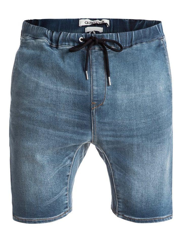 Quiksilver Short »Fonic Denim Fleece« in worn wash