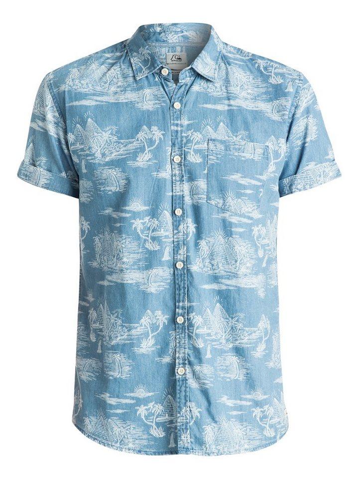 Quiksilver Hemd »Pyramid Point Shirt« in Flintsone