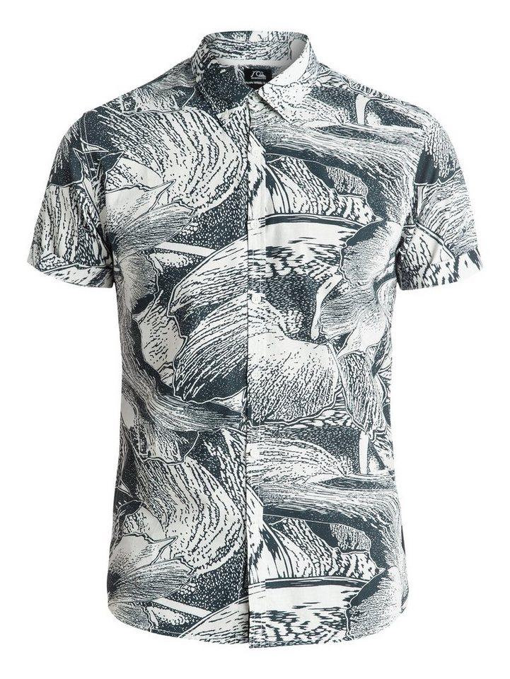 Quiksilver Hemd »Dark Trip Shirt« in dark trip snow white