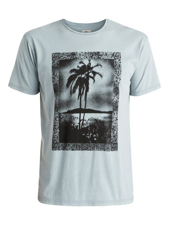 Quiksilver T-Shirt »Postcard« in Flint stone