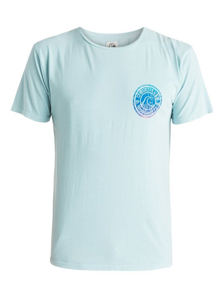 Quiksilver T-Shirt »Garment Dyed Spiral« in tourmaline