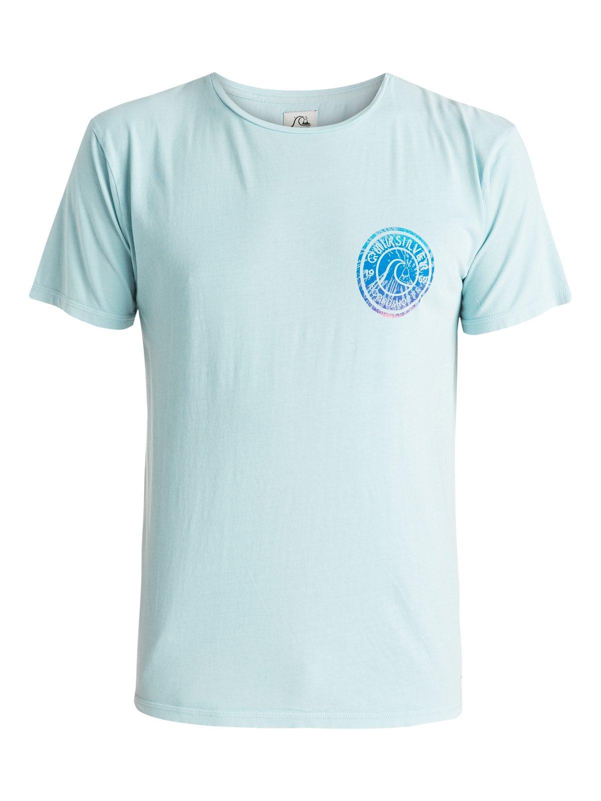 Quiksilver T-Shirt »Garment Dyed Spiral«