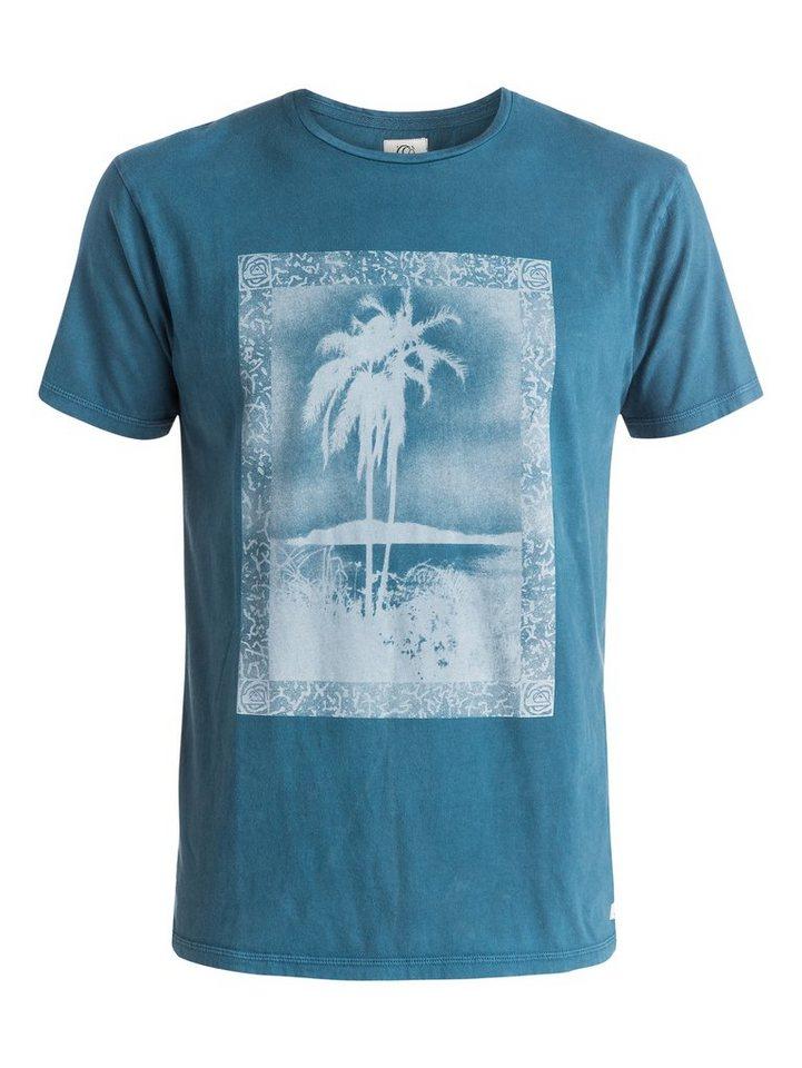 Quiksilver T-Shirt »Postcard« in Dark denim
