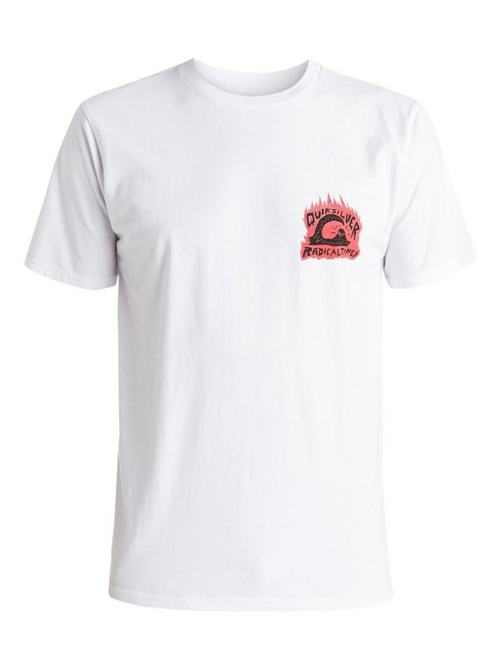 Quiksilver T-Shirt »Sweet And Sour« in white