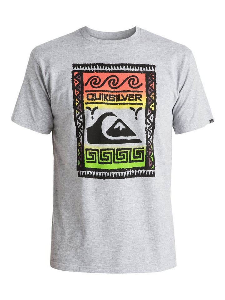 Quiksilver T-Shirt »Classic Wallstreet« in athletic heather