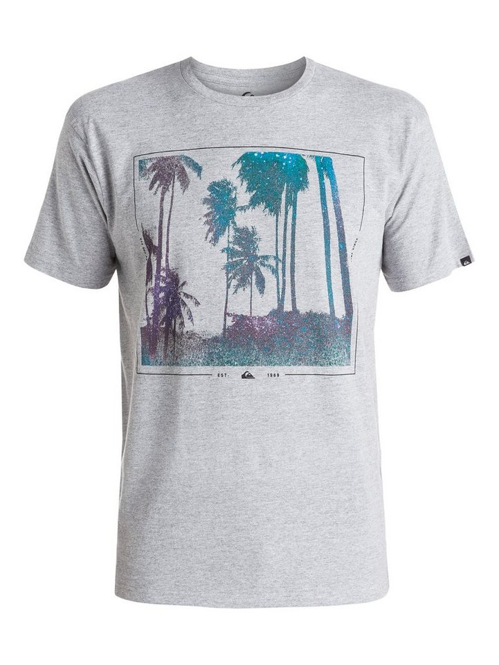 Quiksilver T-Shirt »Classic Night Vision« in athletic heather