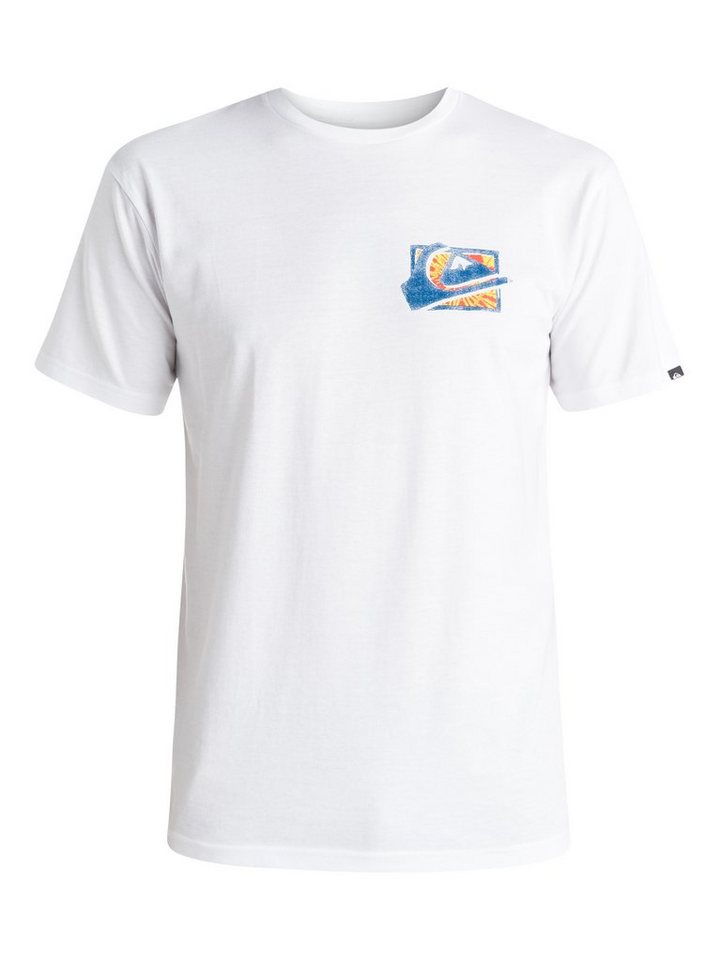 Quiksilver T-Shirt »Classic MW Spray« in white
