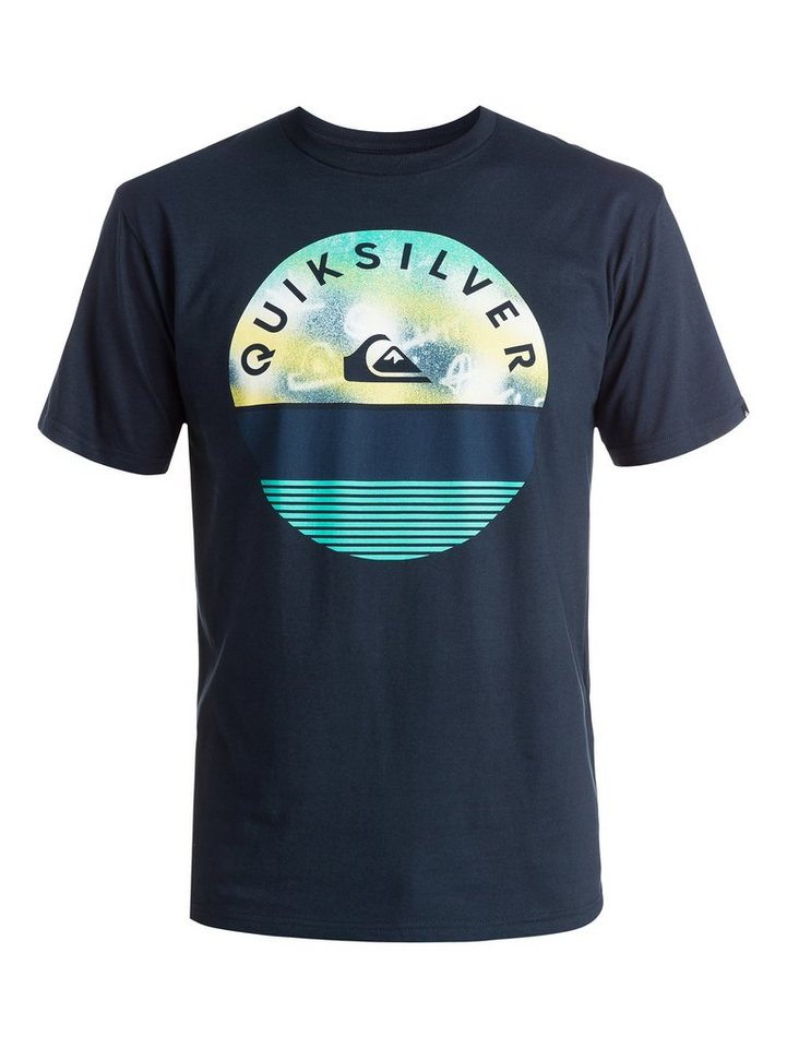 Quiksilver T-Shirt »Classic Extinguished« in navy blazer