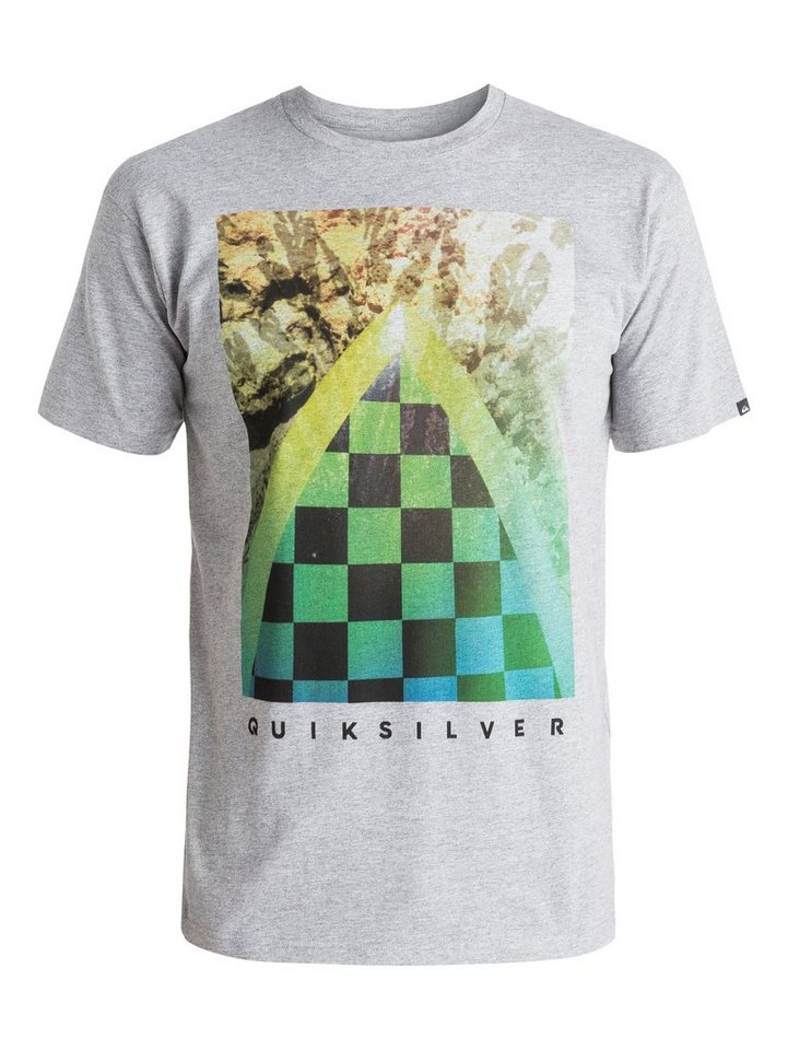 Quiksilver T-Shirt »Classic Checker Channel« in athletic heather