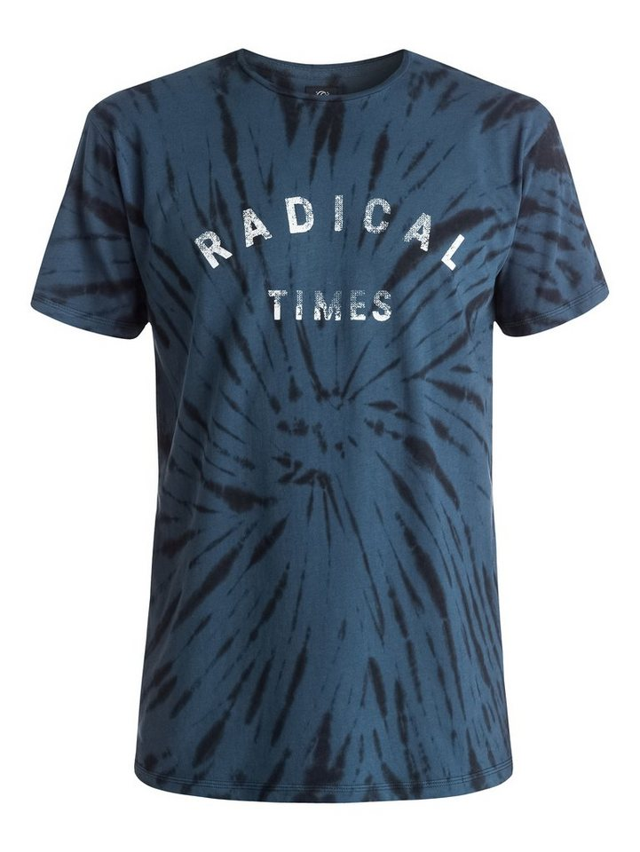 Quiksilver T-Shirt »Radical Tie« in Dark denim