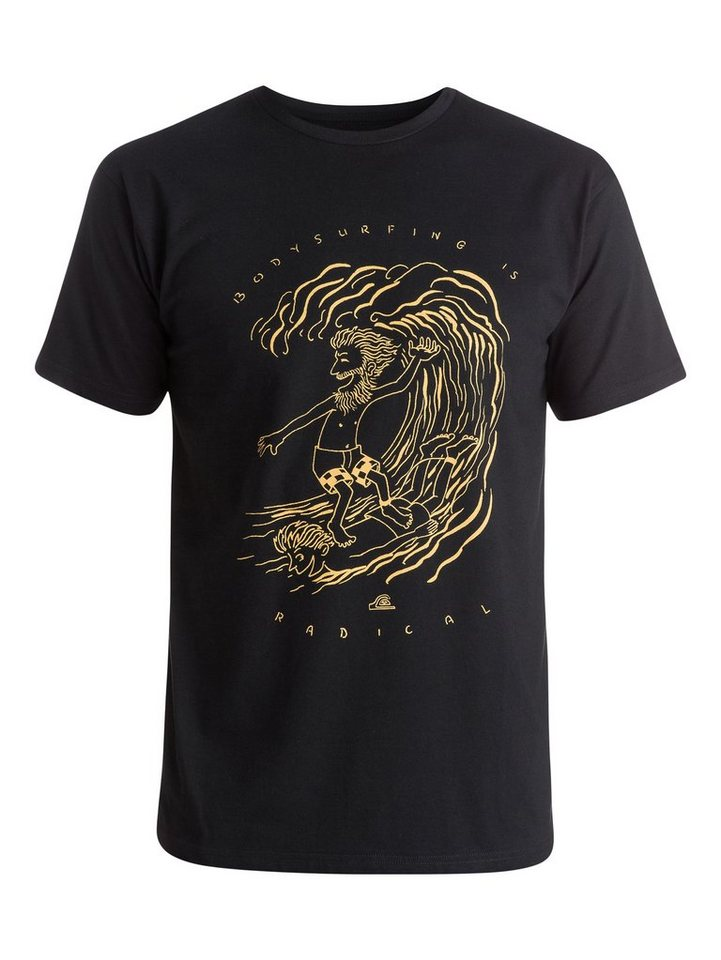 Quiksilver T-Shirt »Classic Radical Surfing« in black