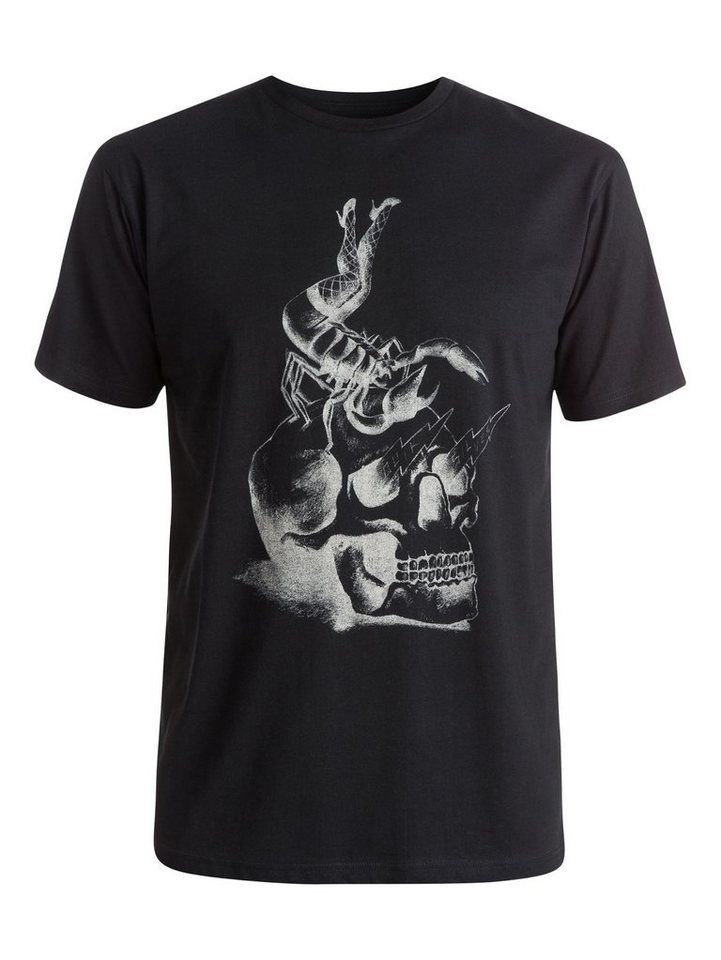 Quiksilver T-Shirt »Classic Scorpion Rules« in black