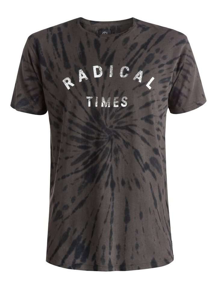 Quiksilver T-Shirt »Radical Tie« in Dark shadow