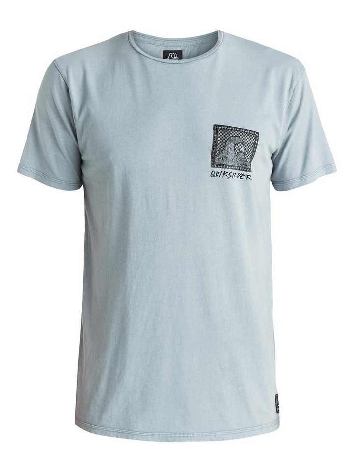 Quiksilver T-Shirt »Checkered Past« in flint stone