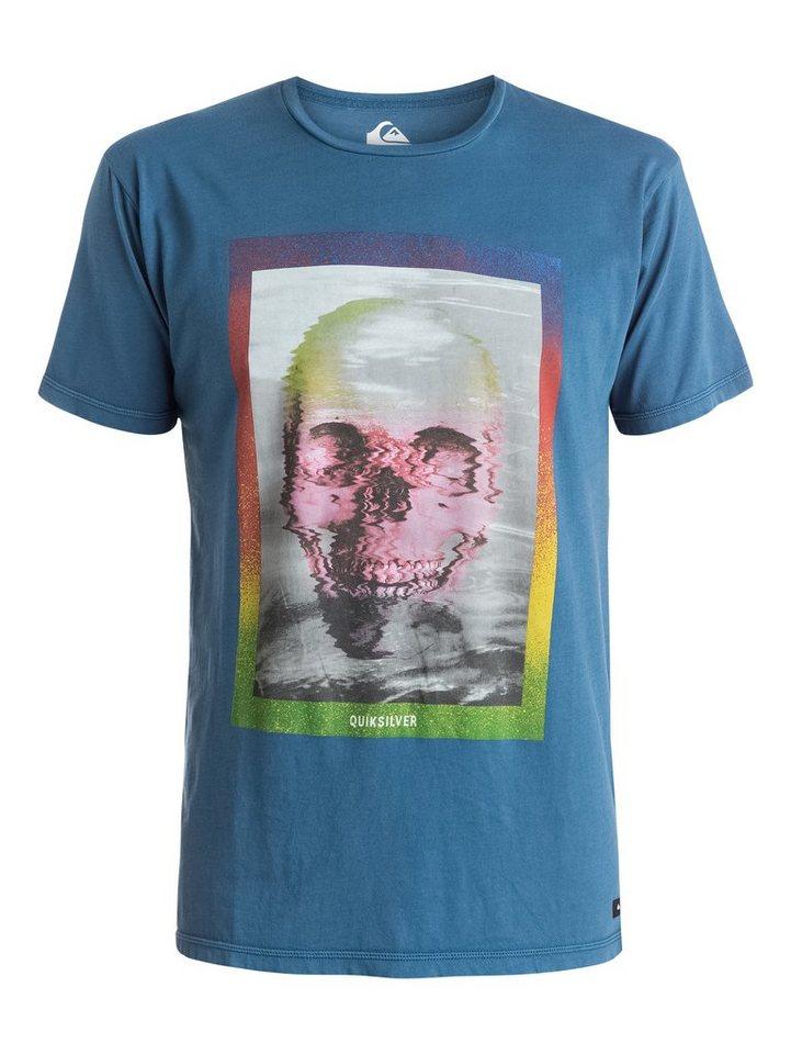 Quiksilver T-Shirt »Skully Acid« in dark denim