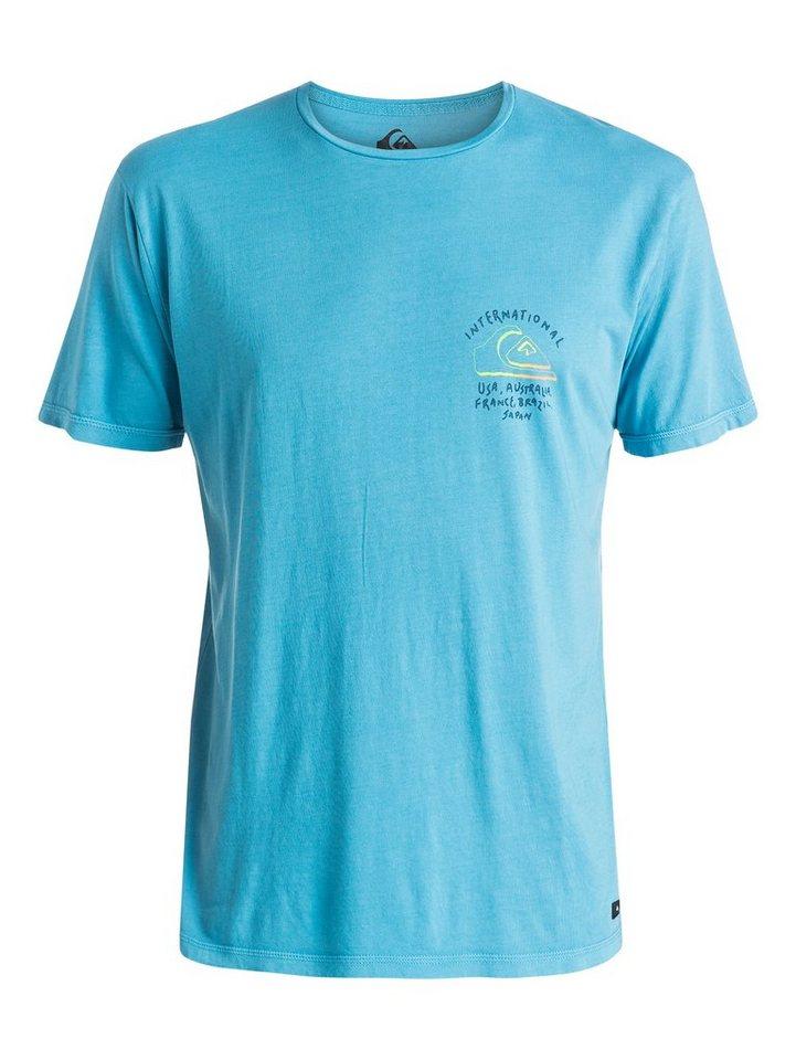 Quiksilver T-Shirt »World Force« in niagara