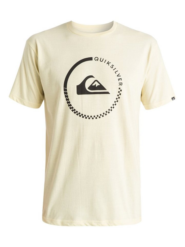 Quiksilver T-Shirt »Classic Active Check« in transparent yellow