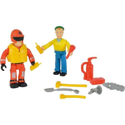 SIMBA Feuerwehrmann Sam - Figuren Doppelpack Charlie + Sam