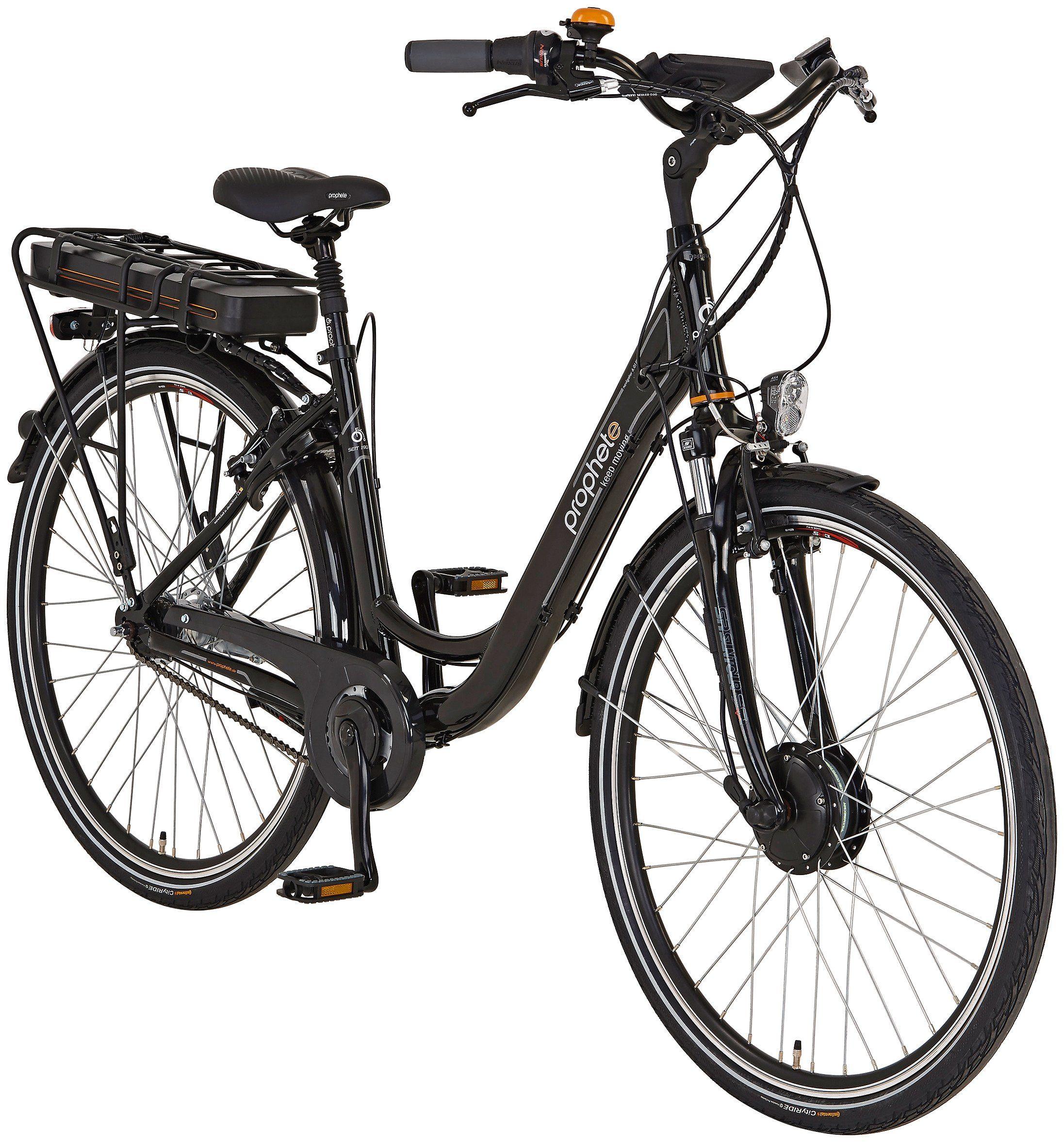Prophete E-Bike City Damen »Navigator 6.01«, 28 Zoll, 7 Gang, Frontmotor, 468 Wh
