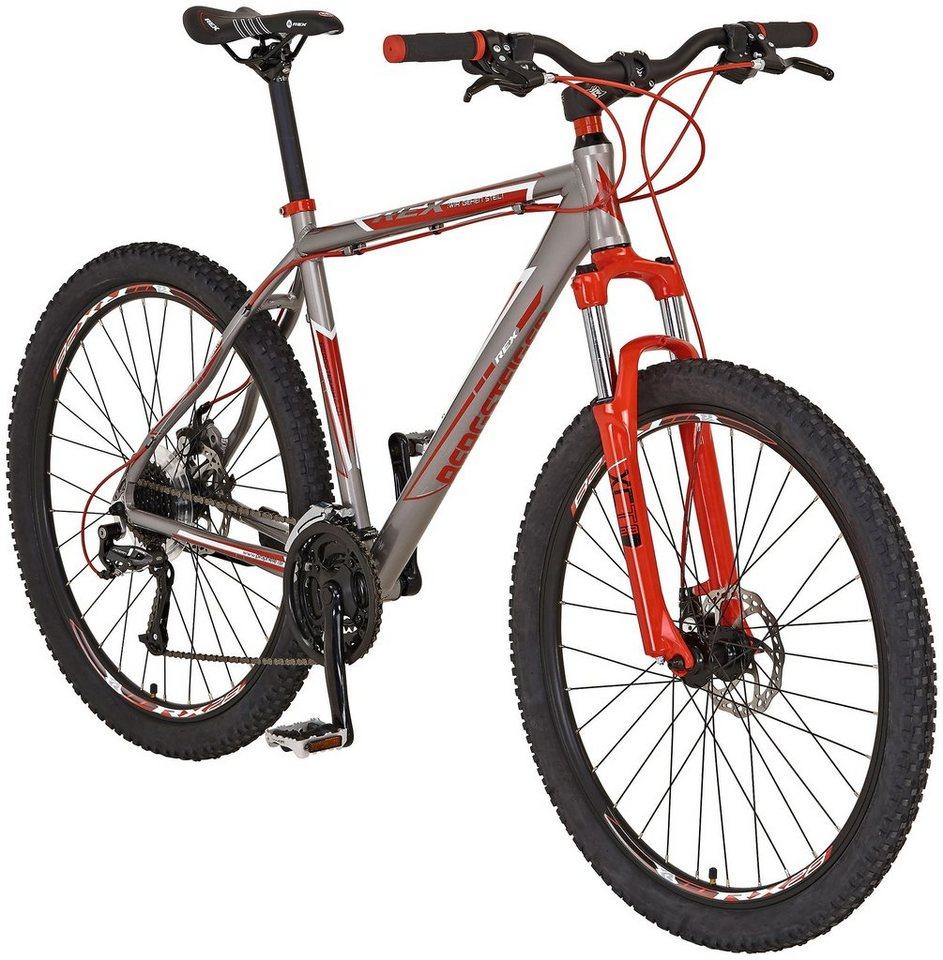 Mountainbike »Bergsteiger 6.01, (29 Zoll)« Inkl. POLAR Pulsuhr in grau