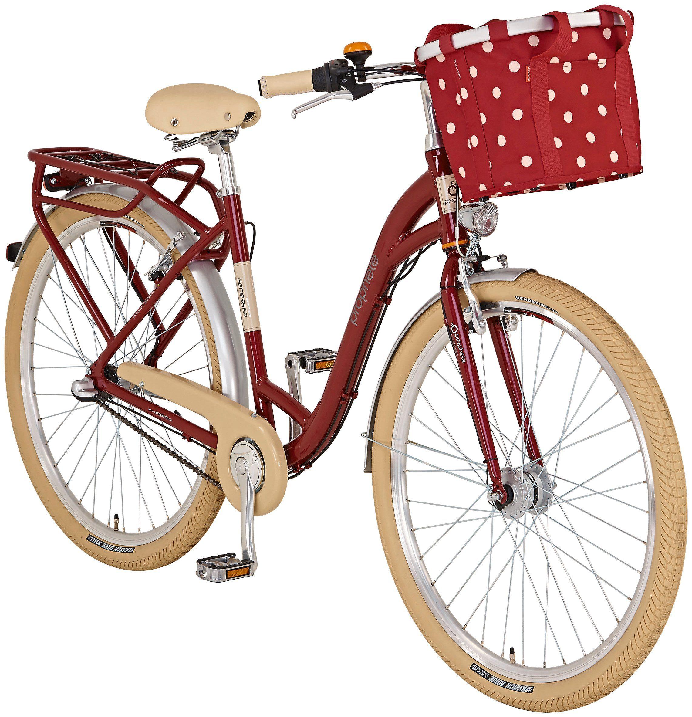 Citybike (Damen) »Genießer 6.01, 71,12 cm (28 Zoll)«