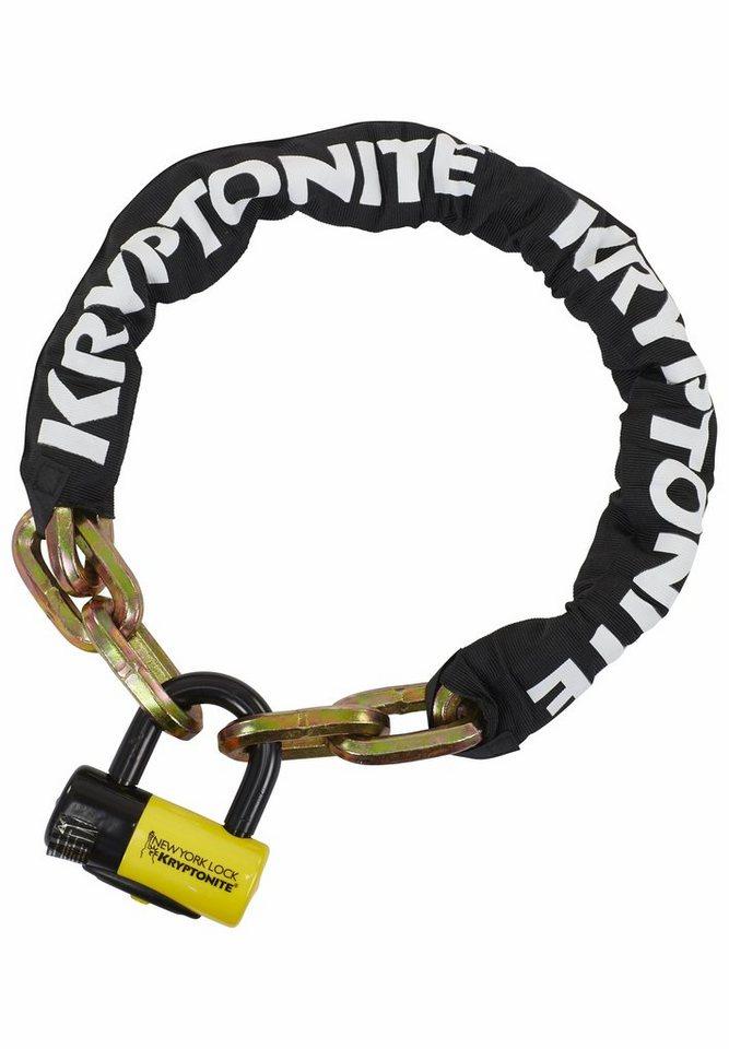 Kryptonite Fahrradschloss »New York Fahgettaboutit schwarz/gelb«