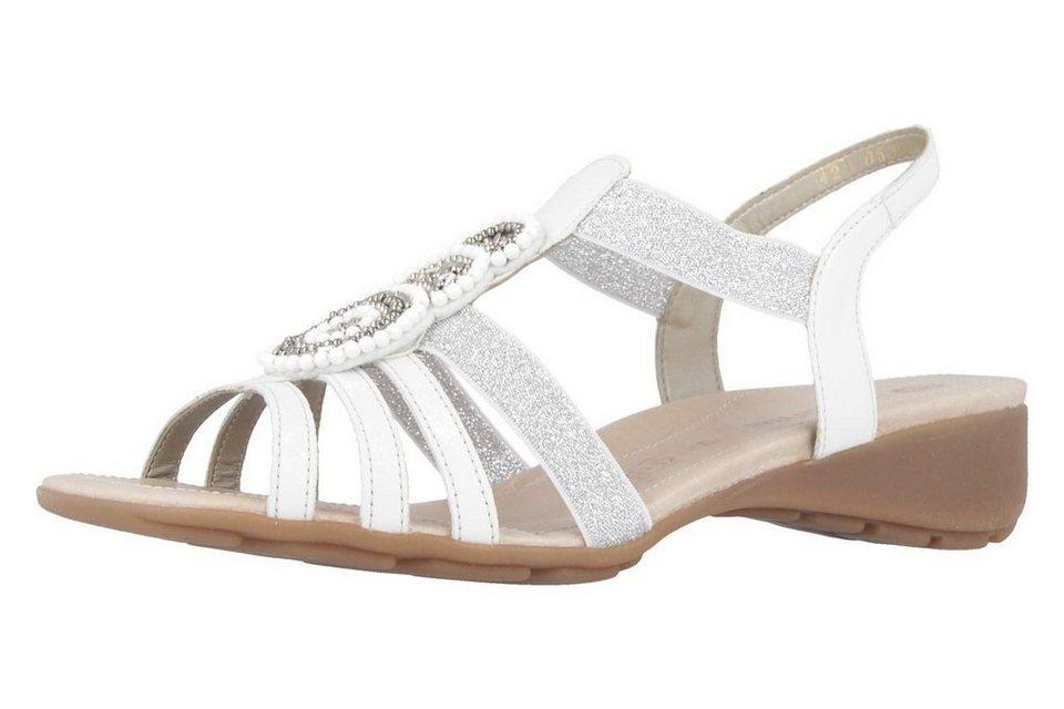 Remonte Sandalen in Weiß