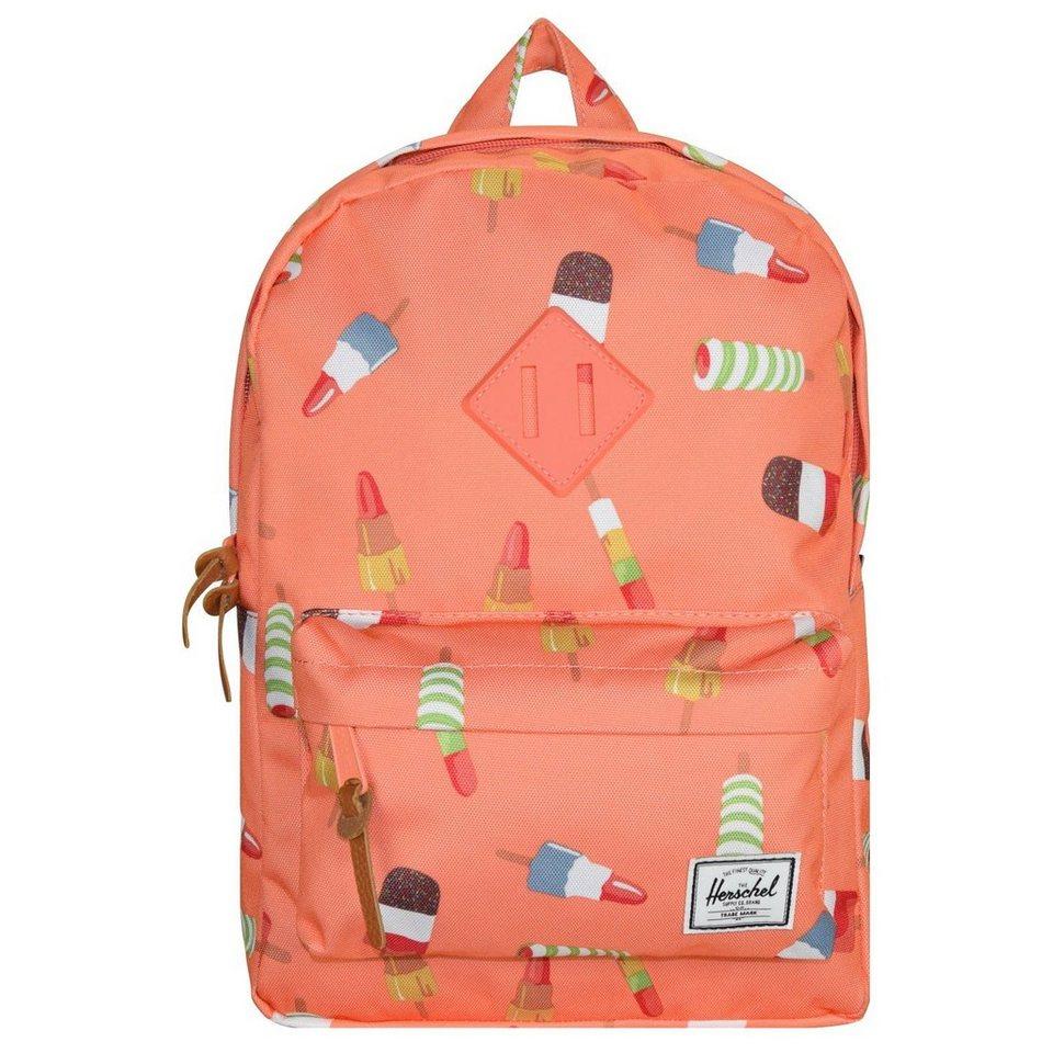 Herschel Heritage Kids Backpack Rucksack 33 cm in popsicle pink-tan sy