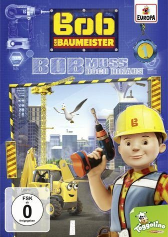 DVD »Bob, der Baumeister - Bob muss hoch hinaus«