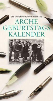 Kalender »Der immerwährende literarische Arche...«