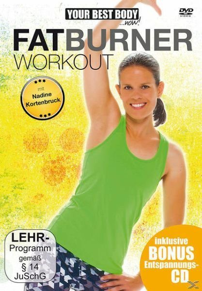 DVD »Your Best Body - Fatburner Workout (+ Audio-CD)«