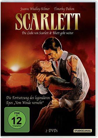 DVD »Scarlett - Die Liebe von Scarlett & Rhett geht...«