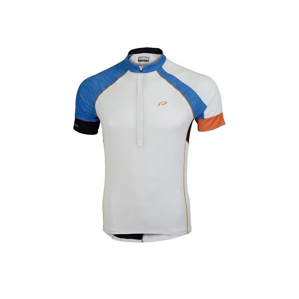 Protective Radtrikot »P 1 Shirt Men« in weiß