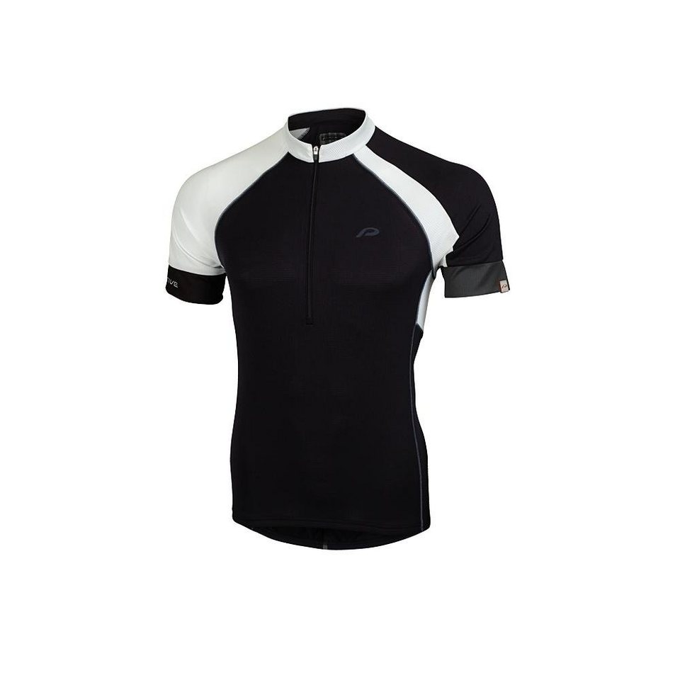 Protective Radtrikot »P 1 Shirt Men« in schwarz