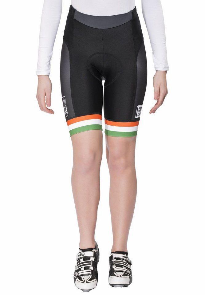 Bioracer Radhose »Eschborn-Frankfurt 55 Pro Race Short Women« in schwarz