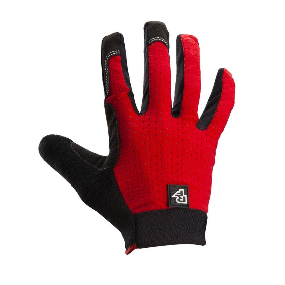 Race Face Fahrrad Handschuhe »Stage Gloves« in rot