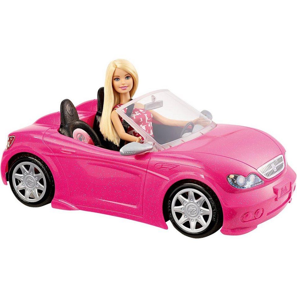 mattel barbie glam cabrio online kaufen otto. Black Bedroom Furniture Sets. Home Design Ideas