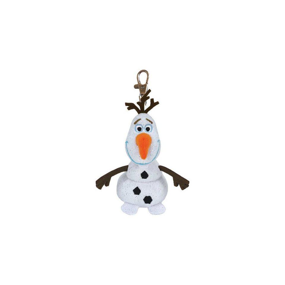 Ty (ST) CARLETTO 7136626 Disney Clip - Olaf (mit Sound), 8.5cm