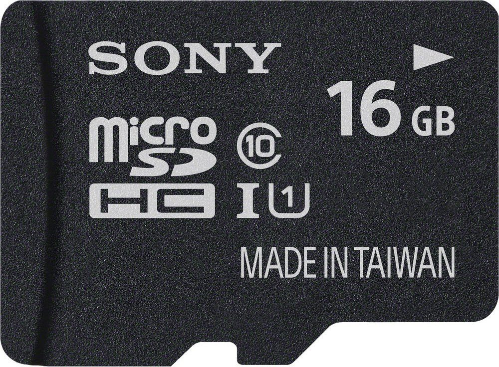 Sony microSDHC Card 16GB, Performance, Class 10, UHS-I
