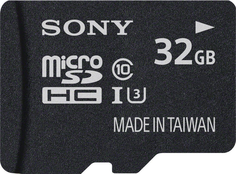 Sony microSDHC Card 32GB, Expert, Class 10, UHS-I