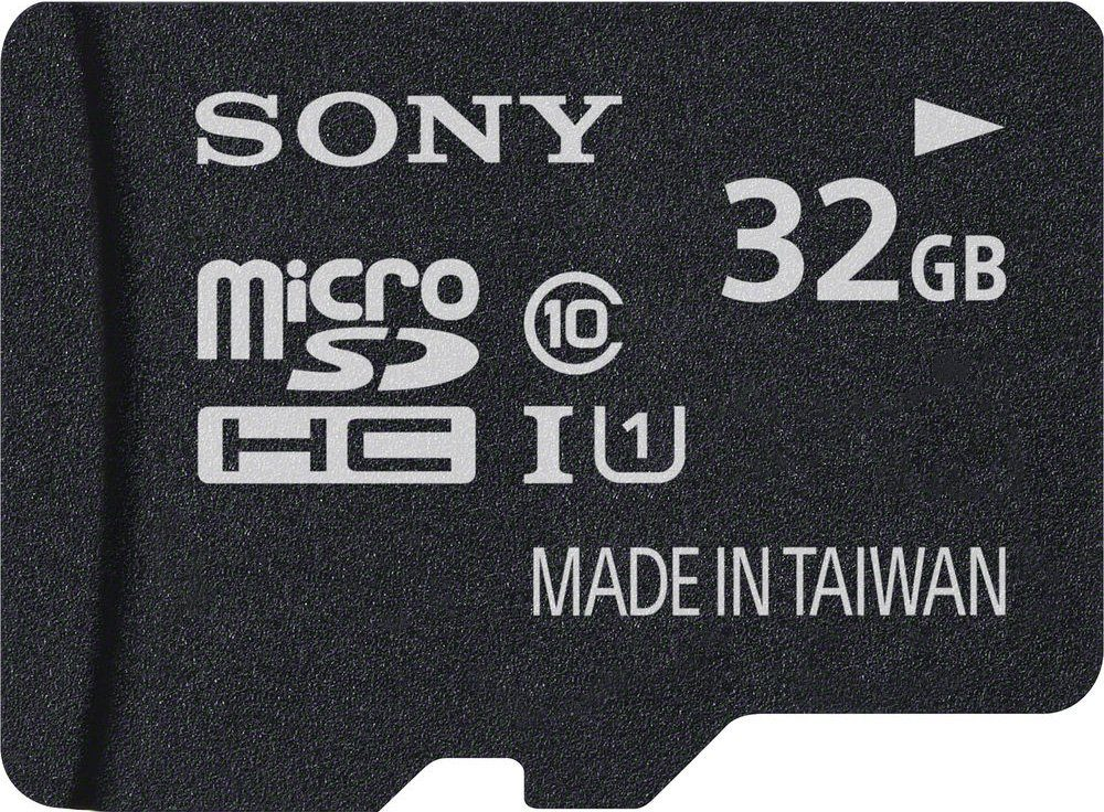 Sony microSDHC Card 32GB, Performance, Class 10, UHS-I