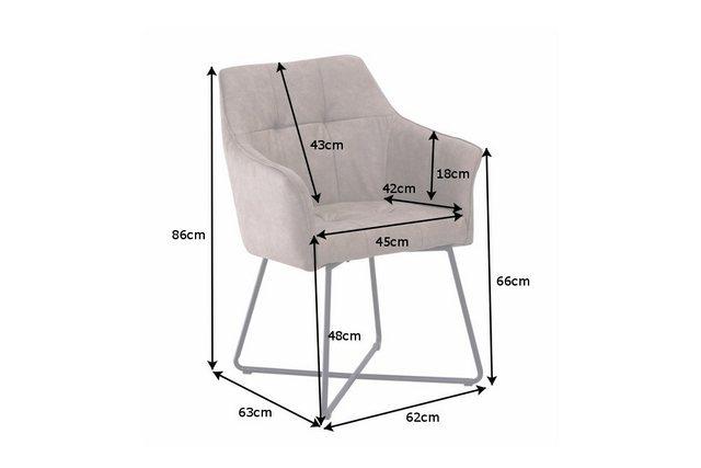 Stühle und Bänke - riess ambiente Polsterstuhl »LOFT FARBWAHL« mit Microfaser Bezug  - Onlineshop OTTO